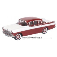 Oxford Diecast 76cre009 VAUXHALL Cresta in Venetian Red & Polar White 1/76