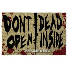The Walking Dead Don't Open Door Mat 40 X 60cm
