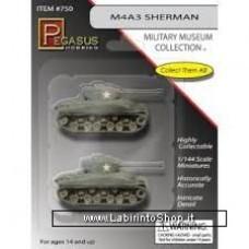 Pegasus M4A3 Sherman (qty 2) Scala 1/144