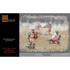 Pegasus Gladiators Set 2 (10 figures) Scala 1/32