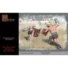 Pegasus Gladiators Set 1 (8 figures) Scala 1/32