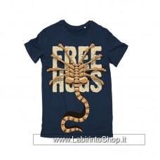 Alien T-Shirt Free Hugs