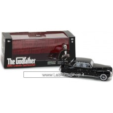 Lincoln Continental with Bullet Whole Damage film The Godfather 1972 Black 1:43