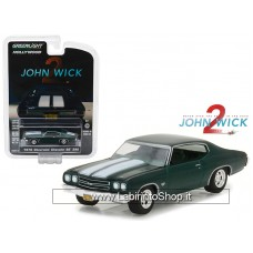 Greenlight 1970 Chevrolet Chevelle SS 396 John Wick Movie Chapter 2 (2017)