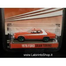 Greenlight Starsky and Hutch 1976 Ford Gran Torino 1/64 Variant Green