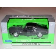 Welly Ford Mustang Boss 429 Black 1969 1:24