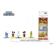 Jada Nano Figures Disney 5 pack A- Mickey Minnie Alice Stitch Kermit
