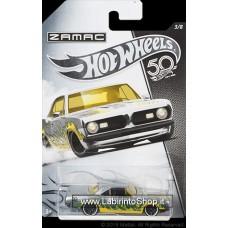 Hot Wheels 50th Anniversary Series Zamac 68 plymouth Barracuda Formula 5
