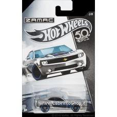 Hot Wheels 50th Anniversary Series Zamac Chevy Camaro Concept