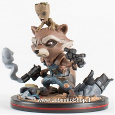 Guardians of the Galaxy Rocket Raccoon and Groot Q-FIG Figure