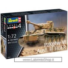 Revell 03262 PzKpfw VI Ausf. H Tiger 1:72 Model Kit