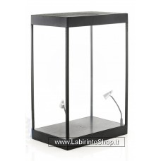 Single cabinet with 2 mobile led lamps