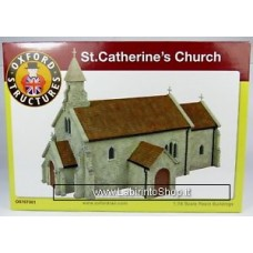 Oxford Rail Structures St Catherine's Church OS76T001 1:76 Scale (OO Gauge)
