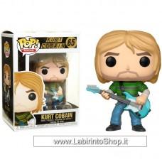 Funko Pop! Rocks: Kurt Cobain In Striped Shirt
