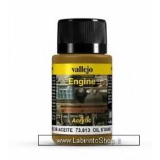 Vallejo Acrylic Paints 40ml Bottle 73.813 Engine Oil Stans 40 ml