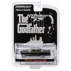 Greenlight The Godfather 1955 Cadillac Fleetwood Series 60 1:64 Black