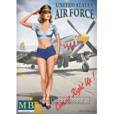 MB Master Box Patty 1/24 Scale Pin-up Series Model (Air Force) Kit #5