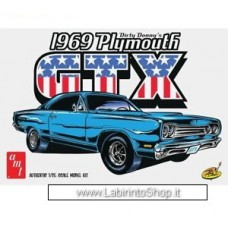 AMT 1065/12 1/25 1969 Plymouth GTX Special Dirty Donny Edition