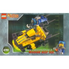 Lego Alpha Team 4791 Set incompleto - Senza minifigure