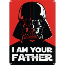 I Am Your Father Metal Wall Sign