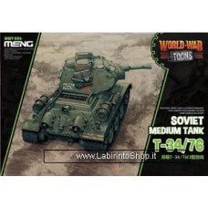 Meng wwt-006 Model – T-34/76 World War Toons