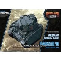 Meng wwt-005 Model – Panzer III World War Toons