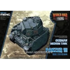 Meng wwt-005 Model – Panzer III World War Toons