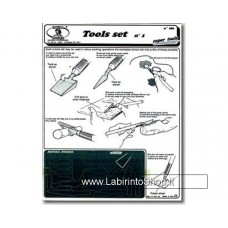 Royal Model: set utensili n°1 (spatoline, seghetti, incisori)