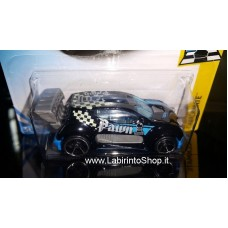 Hot Wheels 50th Anniversary Fast 4wd Checkmate Blue Black