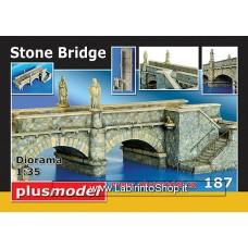Plus Model Plus 187 - Stone bridge 1/35