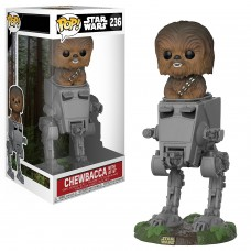 Funko Pop! Star Wars: 236 Chewbacca with AT-ST