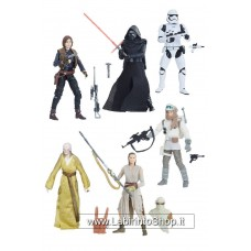 Star Wars Black Series Vintage Action Figures 10 cm 2018 Wave 1 Assortment (8)