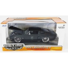 Jada Bigtime Muscle '67 SHELBY GT-500 1:24 Scale Black (2016)