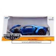 Jada Bigtime Muscle Lykan Hypersport Blue 1/24 Scale