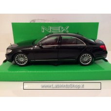 Welly - Mercedes-Benz S Class Black Die Cast Model - Scale 1:24