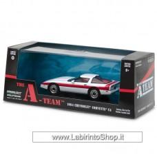 Greenlight 1984 Chevrolet Corvette C4 The A Team White 1:43