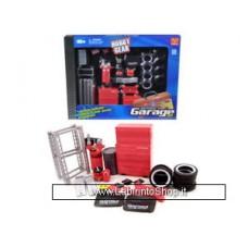 Phoenix Toys Hobby Gear Die-Cast Mobile Garage Accessories Set 1:24 Scale