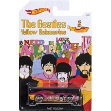 Hot Wheels Beatles Yellow Submarine Series Fast Felion