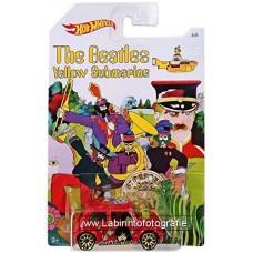 Hot Wheels Beatles Yellow Submarine Series Morris Mini
