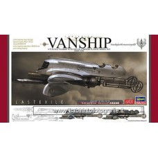 Hasegawa 64713 Last Exile VanShip with Steam Torpedo 1/72 Scale Kit