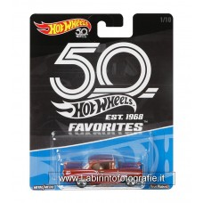 Hot Wheels 50th Anniversary Diecast Vehicle - 56 Chevy 1/64 Diecast Car