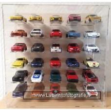 Display Case 1/64 30 models
