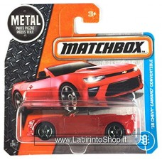 Matchbox 16 Chevy Camaro Convertible