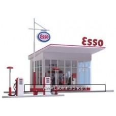 Bush Gas Station ESSO H0-Scale - 1005
