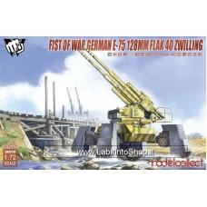 Fist of War German E-75 128mm Flak 40 Zwilling