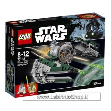 LEGO Star Wars (75168). Jedi Starfighter di Yoda
