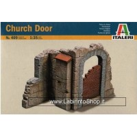 Italeri Church Door and Wall Section Scala 1:35