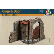 Italeri Church Door and Wall Section Scala 1:35