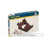 Italeri 0405 - Brick Walls Model Kit Scala 1:35