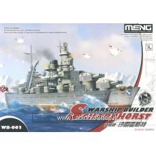 Meng wb-002 Warship Builder Scharunhorst